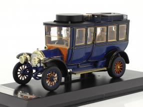 Mercedes-Benz Simplex 60 PS Touring car year 1903 blue 1:43 Premium X