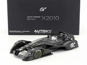 Red Bull X2010 Gran Turismo 5 carbon 1:18 AUTOart