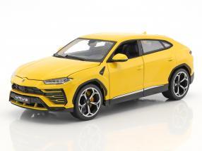 Lamborghini Urus yellow 1:18 Bburago