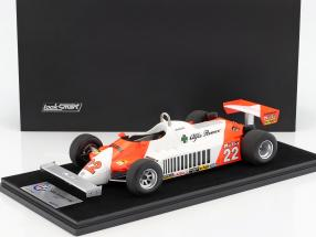 Mario Andretti Alfa Romeo 179C #22 Deutschland GP Formel 1 1981 mit Vitrine 1:18 LookSmart