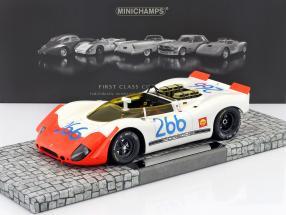 Porsche 908/02 Spyder #266 Winner Targa Florio 1969 Mitter, Schütz 1:18 Minichamps