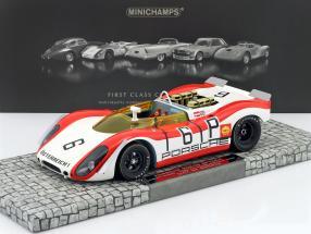 Porsche 908/02 Spyder #6 1000km Nürburgring 1969 Lins, Attwood 1:18 Minichamps