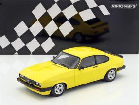 Ford Capri 3.0 year 1978 yellow 1:18 Minichamps