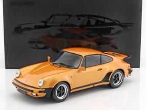 Porsche 911 (930) Turbo year 1977 orange metallic 1:12 Minichamps