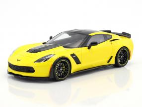 Chevrolet Corvette Z06 C7.R Edition year 2016 racing yellow 1:18 GT-Spirit