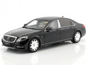 Mercedes-Benz Maybach S600 year 2015 obsidian black 1:18 GT-Spirit
