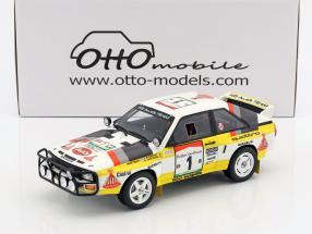 Audi Quattro Sport Gr. B #1 Winner Rallye Elfenbeinküste 1984 Blomqvist, Cederberg 1:18 OttOmobile