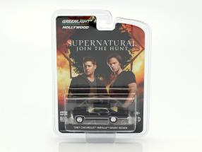 Chevrolet Impala Sport Sedan from the TV series Supernatural 2005 1:64 Greenlight