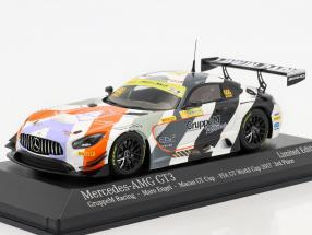 Mercedes-Benz AMG GT3 #999 3rd FIA GT Cup Macau 2017 Maro Engel 1:43 Minichamps