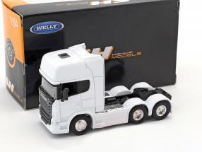 Scania V8 R730 (6x4) weiß 1:64 Welly
