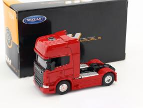 Scania V8 R730 (4x2) red 1:64 Welly