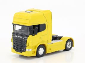 Scania V8 R730 (4x2) gelb 1:64 Welly