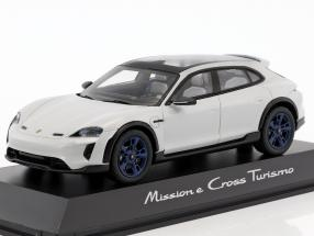 Porsche Mission E Cross Turismo 2018 chalk with blue rims 1:43 Spark