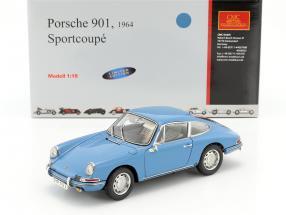 Porsche 901 Serie Year 1964 sky blue 1:18 CMC
