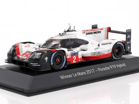 Porsche 919 Hybrid Dirty Version #2 Winner 24h LeMans 2017 1:43 Spark