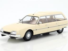 Citroen CX 2500D Super Break series I year 1976 beige 1:18 Model Car Group