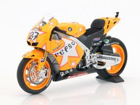 Casey Stoner Honda RC212V #27 winner Aragon GP World Champion MotoGP 2011 1:12 Minichamps