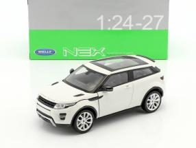 Range Rover Evoque year 2011 white 1:24 Welly