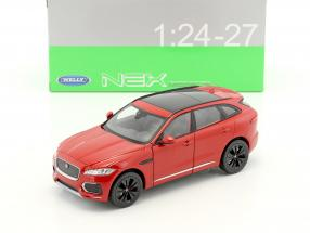 Jaguar F-Pace Baujahr 2016 rot 1:24 Welly