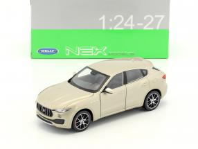 Maserati Levante Baujahr 2017 gold 1:24 Welly