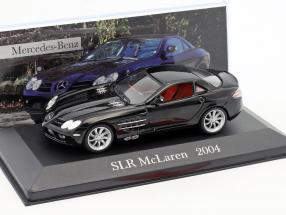 Mercedes-Benz McLaren SLR (C199) year 2004 black 1:43 Altaya