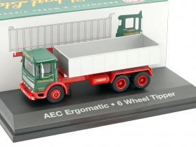 AEC Ergomatic 6-Wheel Tipper Stobart grün / rot / grau 1:76 Atlas
