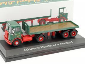 Atkinson Borderer Flatbed Stobart grün / rot 1:76 Atlas