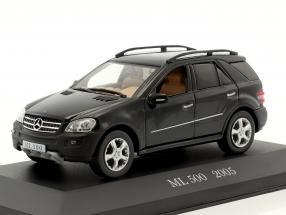 Mercedes-Benz ML 500 (W164) Baujahr 2005 schwarz 1:43 Altaya
