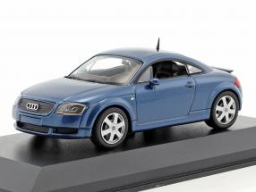 Audi TT coupe year 1998 blue metallic 1:43 Minichamps