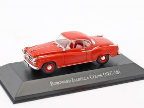 Borgward Isabella Coupe Baujahr 1957-1958 rot 1:43 Hachette