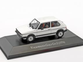 Volkswagen VW Golf GTI I Baujahr 1976 weiß 1:43 Hachette