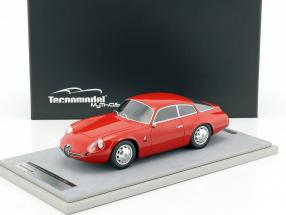 Alfa Romeo Giulietta SZ Coda Tronca Press Version 1963 rot 1:18 Tecnomodel