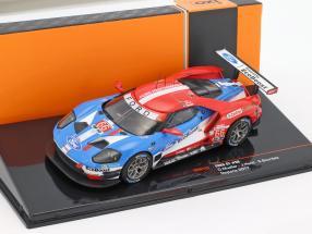 Ford GT #66 Winner GTLM-Klasse 24h Daytona 2017 Müller, Hand, Bourdais 1:43 Ixo