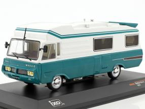 Maillet Eric 3 camper year 1977 turquoise / white 1:43 Ixo