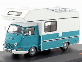 Star Autostar 350 camper year 1979 turquoise / green 1:43 Ixo