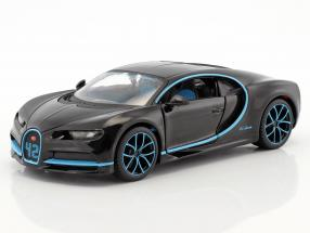 Bugatti Chiron World Record Car #42 J.-P. Montoya black 1:24 Maisto