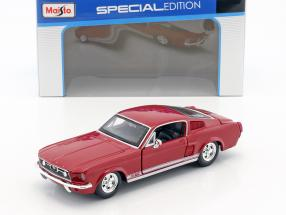 Ford Mustang GT Baujahr 1967 rot 1:24 Maisto