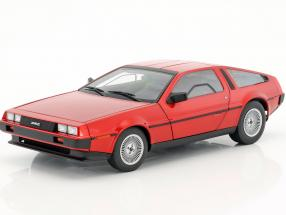 De Lorean DMC-12 year 1981 red metallic 1:18 AUTOart