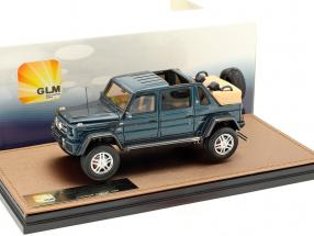 Mercedes-Benz Maybach G650 Landaulet Open version year 2017 blue metallic 1:43 GLM