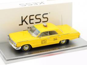 Chevrolet Biscayne N.Y.C. Taxi Baujahr 1963 gelb 1:43 KESS