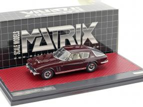 Jensen Interceptor FF Series II Baujahr 1970 braun 1:43 Matrix