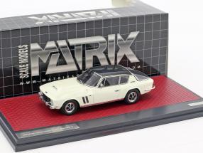 Jensen Interceptor FF Series II Baujahr 1970 grau / weiß 1:43 Matrix