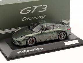 Porsche 911 (991 II) GT3 Touring Package oak grün metallic 1:43 Spark
