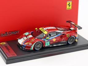 Ferrari 488 GTE #71 5th LMGTE Pro Klasse 24h LeMans 2017 AF Corse 1:43 LookSmart