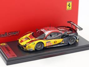 Ferrari 488 GTE #84 Sieger LMGTE Am Klasse 24h LeMans 2017 JMW Motorsport 1:43 LookSmart