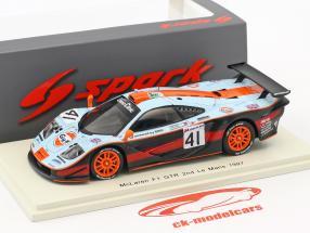 McLaren F1 GTR #41 2nd 24h LeMans 1997 Gounon, Raphanel, Olofsson 1:43 Spark