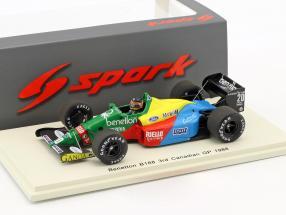 Thierry Boutsen Benetton B188 #20 3rd Kanada GP Formel 1 1988 1:43 Spark