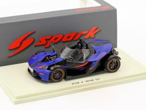 KTM X-Bow GT dunkel blau / schwarz 1:43 Spark