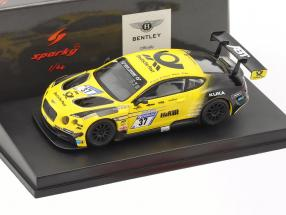 Bentley Continental GT3 #37 24h Nürburgring 2017 Bentley Team ABT 1:64 Spark
