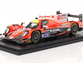 Oreca 07 #24 7th 24h LeMans 2017 Graves, Hirschi, Vergne 1:43 Spark